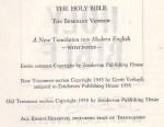 Berkeley Bible
