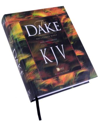 Dake Three Column KJV Bible