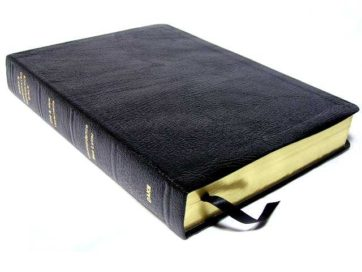 Genuine Leather Dake Annotated Reference Bible Standard