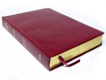 Standard Dake Annotated Reference Bible Bonded Burgundy