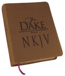 Dake NKJV Bible Brown Leathersoft