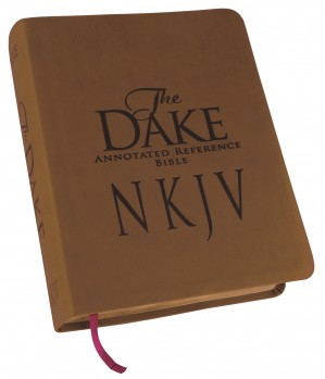 Dake NKJV Bible Brown Leathersoft