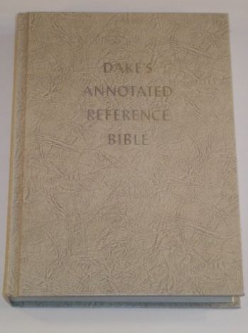 Large Print Dake Annotated Reference Bible