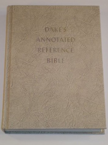 Large Print Dake Annotated Reference Bible