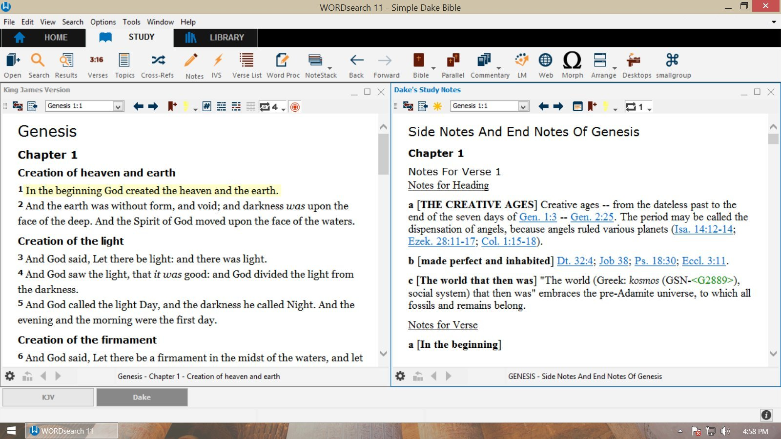 Wordsearch Bible Software